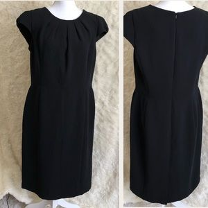 Talbots Black Formal Dress Size 14